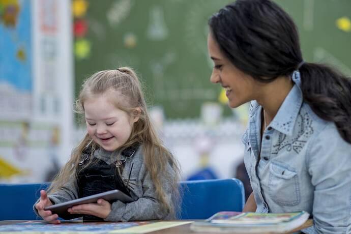 La educación en el síndrome de Down